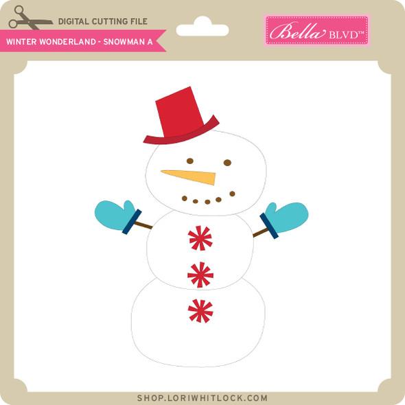 Winter Wonderland - Snowman A
