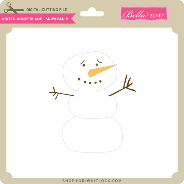 Winter Wonderland - Snowman B