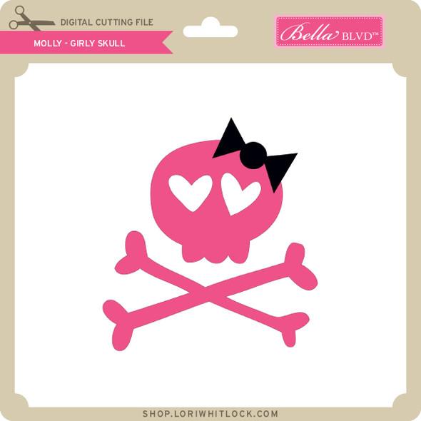 Molly - Girly Skull