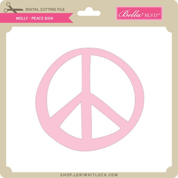 Molly - Peace Sign