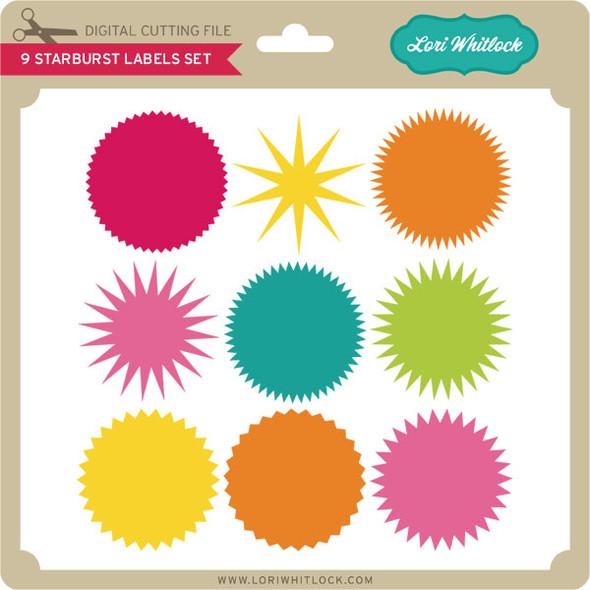 9 Starburst Seal Set