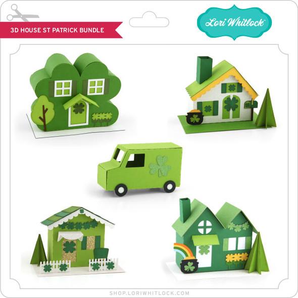 3D House St Patrick Bundle
