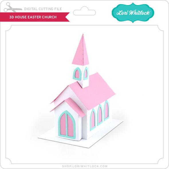 3D House Easter Church