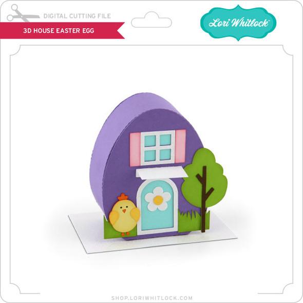 3D House Easter Egg
