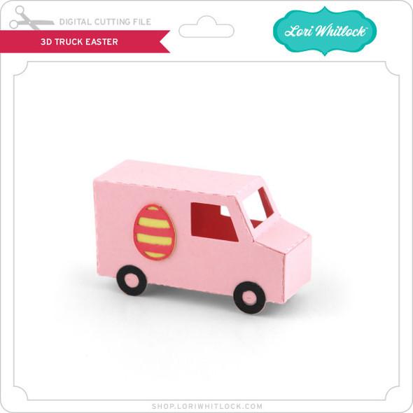 3D Truck Easter