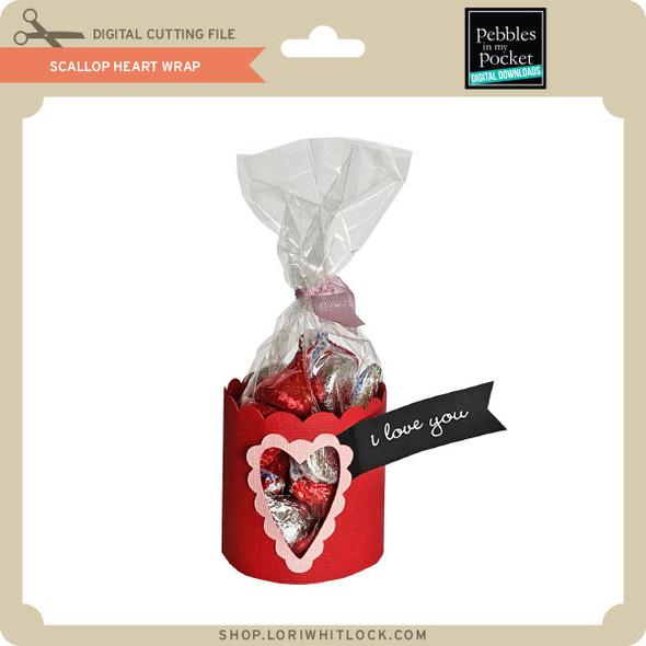 Scallop Heart Wrap