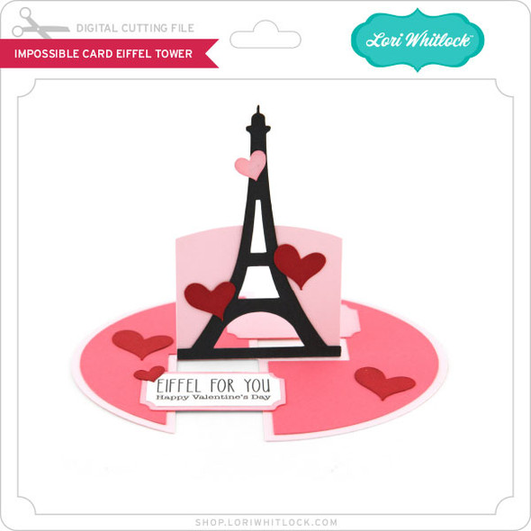 Impossible Card Eiffel Tower