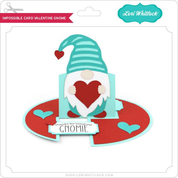 Impossible Card Valentine Gnome