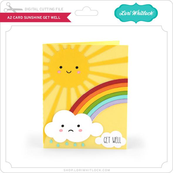 A2 Card Sunshine Get Well