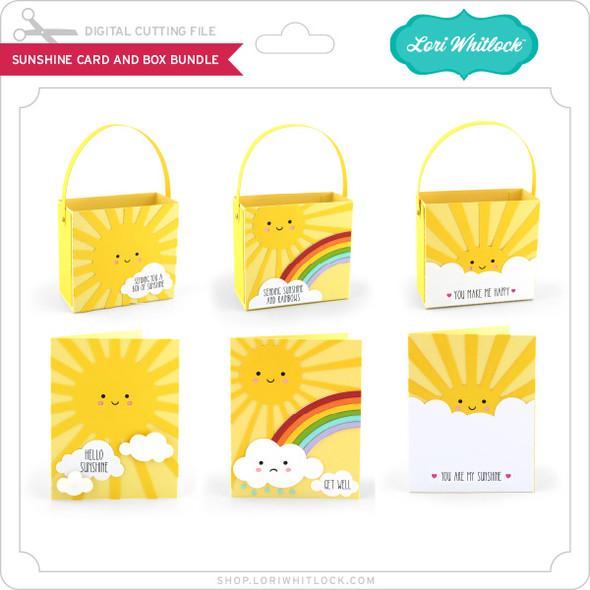 Sunshine Card and Box Bundle