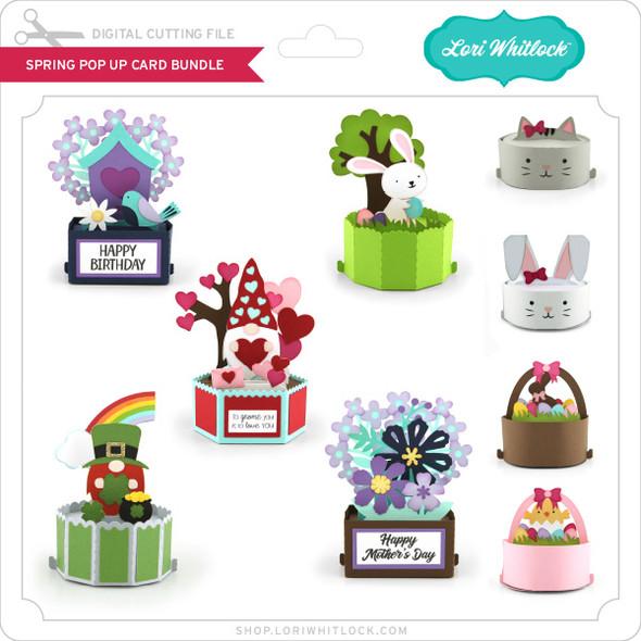 Spring Pop Up Card Bundle