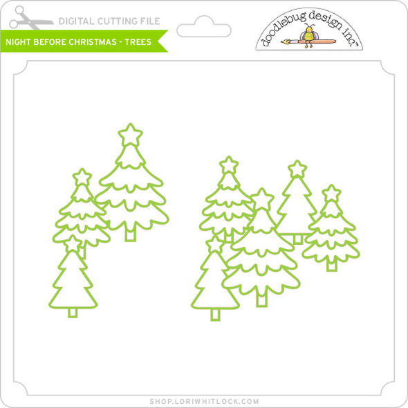 Night Before Christmas Christmas Trees