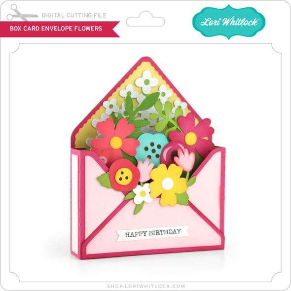 Box Card Envelope Flowers