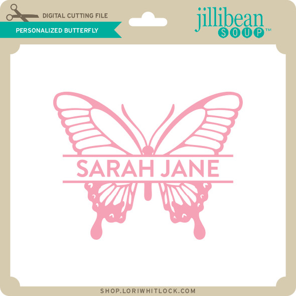 Personalized Butterfly