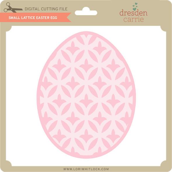 Small Lattice Easter Egg