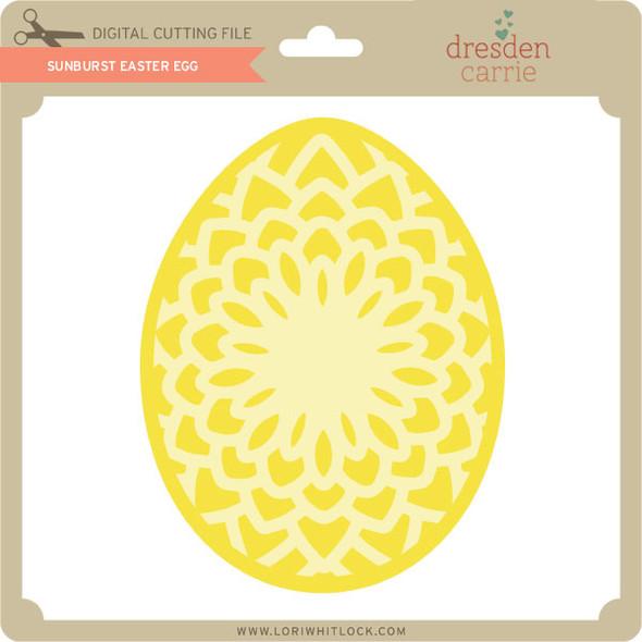 Sunburst Easter Egg