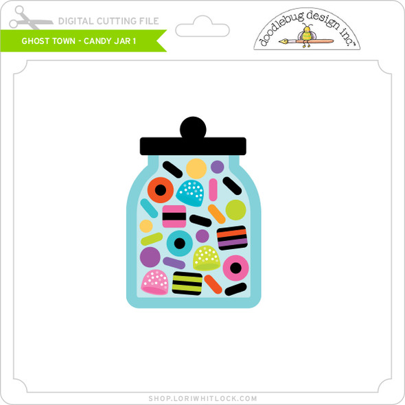 Ghost Town - Candy Jar 1
