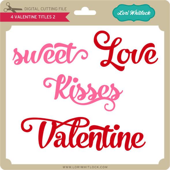 4 Valentine Titles 2