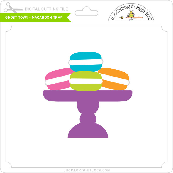Ghost Town - Macaroon Tray