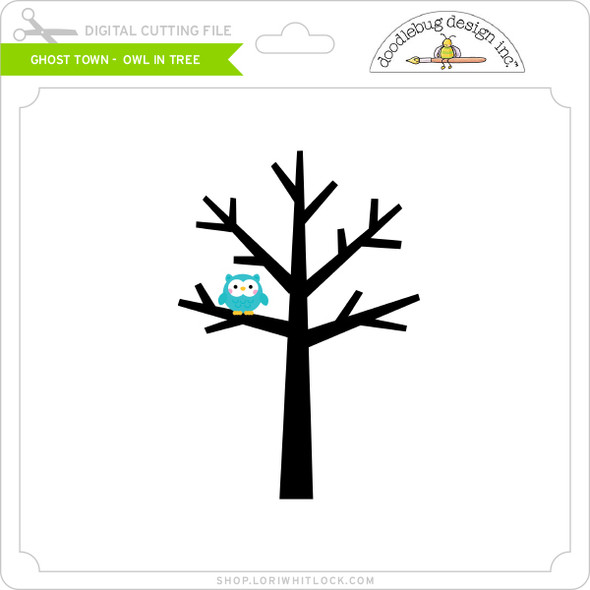 Ghost Town - Owl in Tree