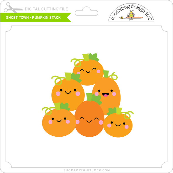 Ghost Town - Pumpkin Stack