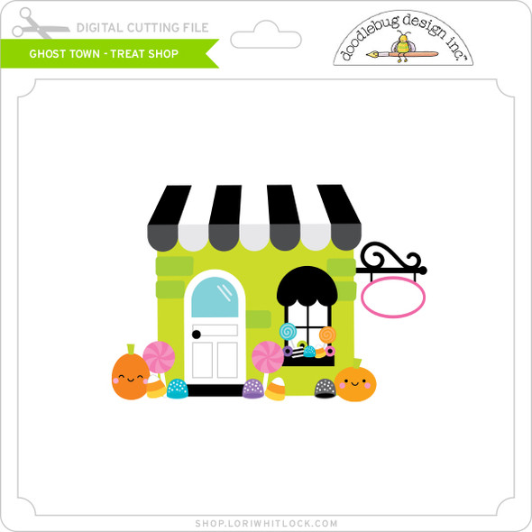 Ghost Town - Treat Shop
