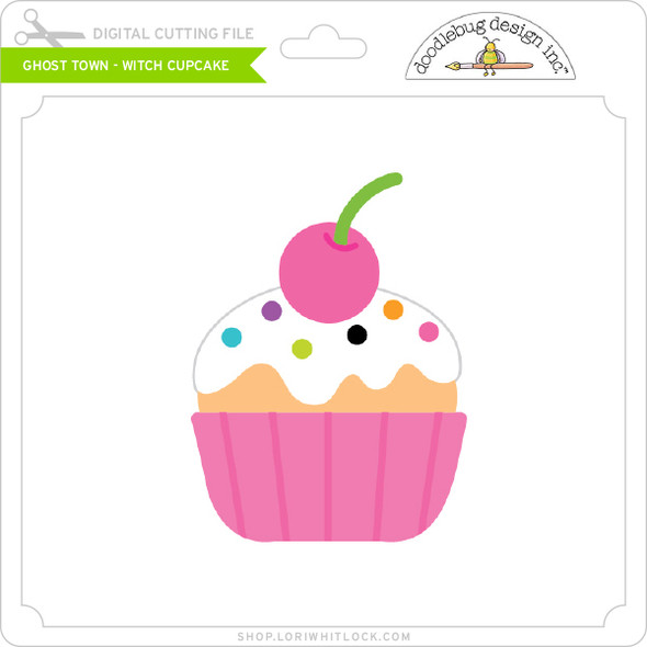 Ghost Town - Witch Cupcake