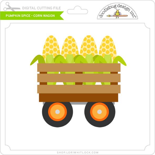 Pumpkin Spice - Corn Wagon