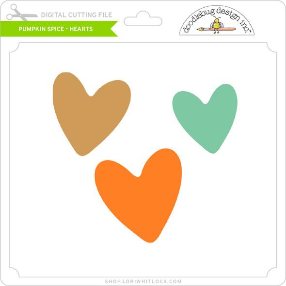 Pumpkin Spice - Hearts