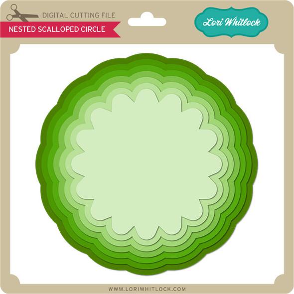 Nested Scalloped Circle 2