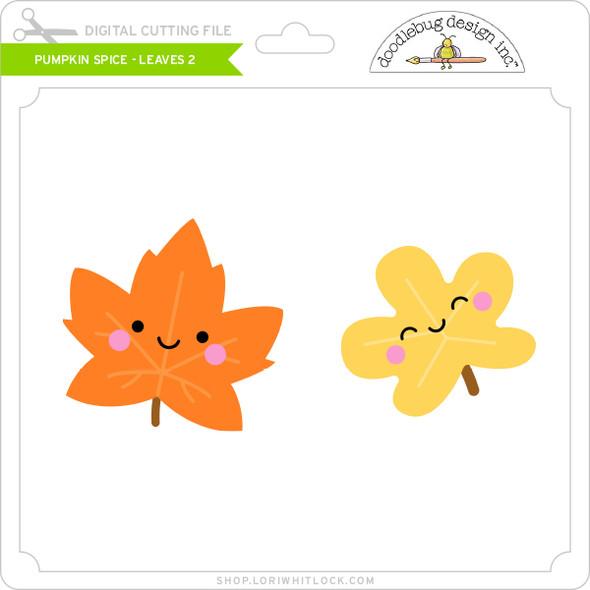 Pumpkin Spice - Leaves 2