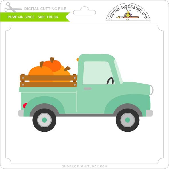 Pumpkin Spice - Side Truck