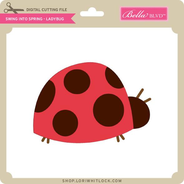 Swing into Spring - Ladybug