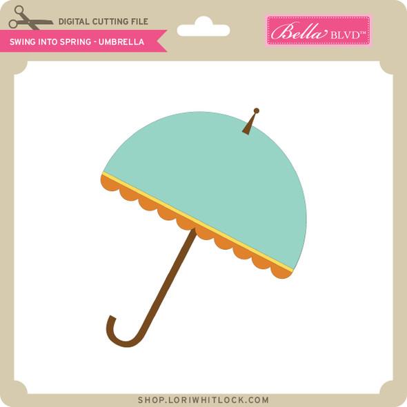 Swing into Spring - Umbrella