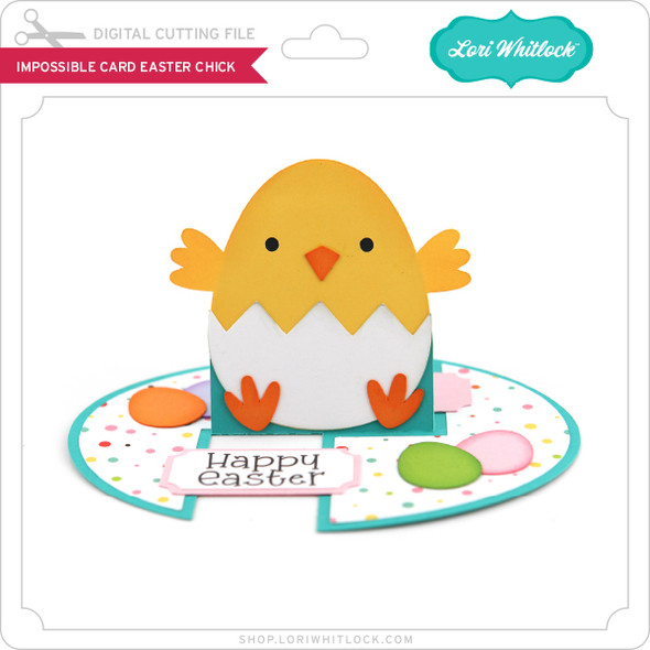 Impossible Card Easter Chick