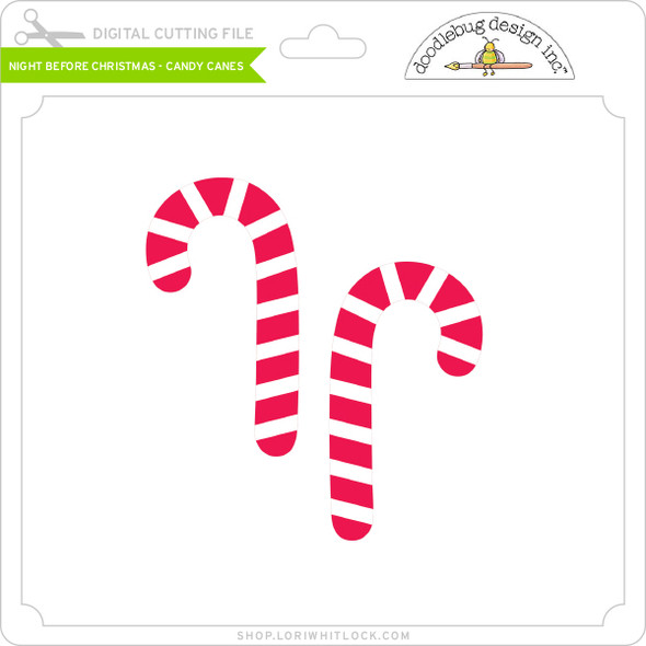 Night Before Christmas - Candy Canes