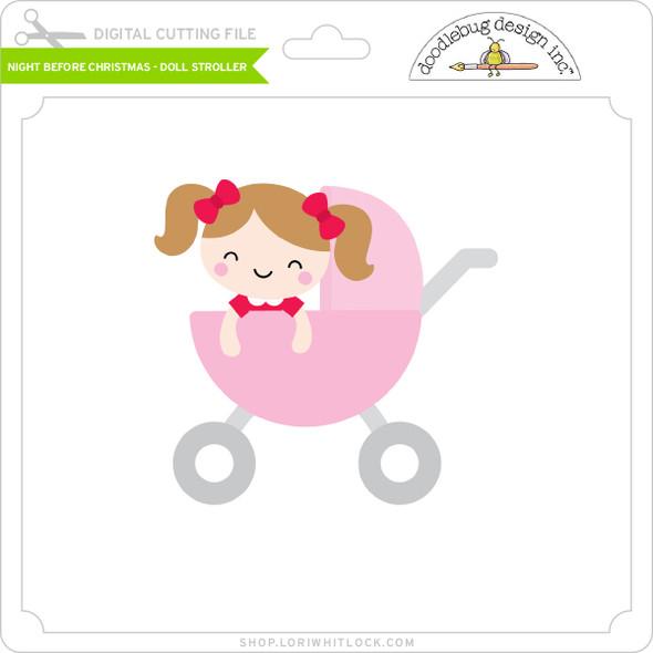 Night Before Christmas - Doll Stroller