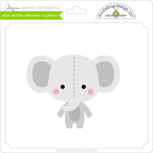 Night Before Christmas - Elephant