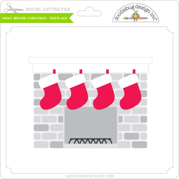 Night Before Christmas - Fireplace