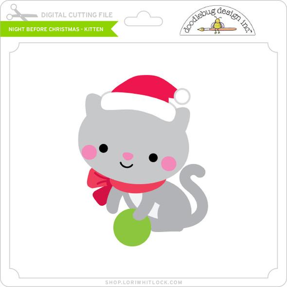 Night Before Christmas - Kitten