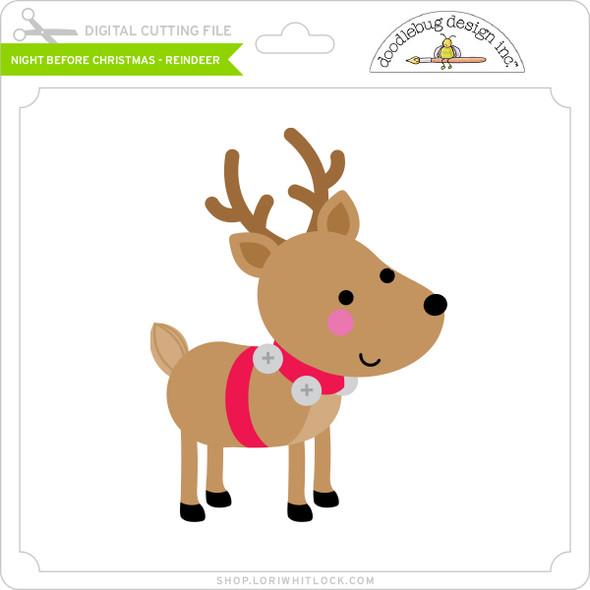 Night Before Christmas - Reindeer