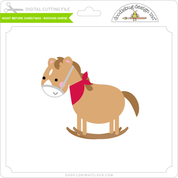 Night Before Christmas - Rocking Horse