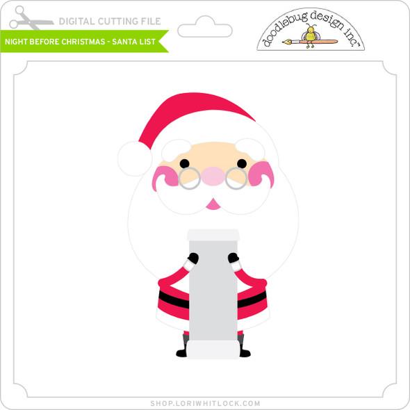 Night Before Christmas - Santa List