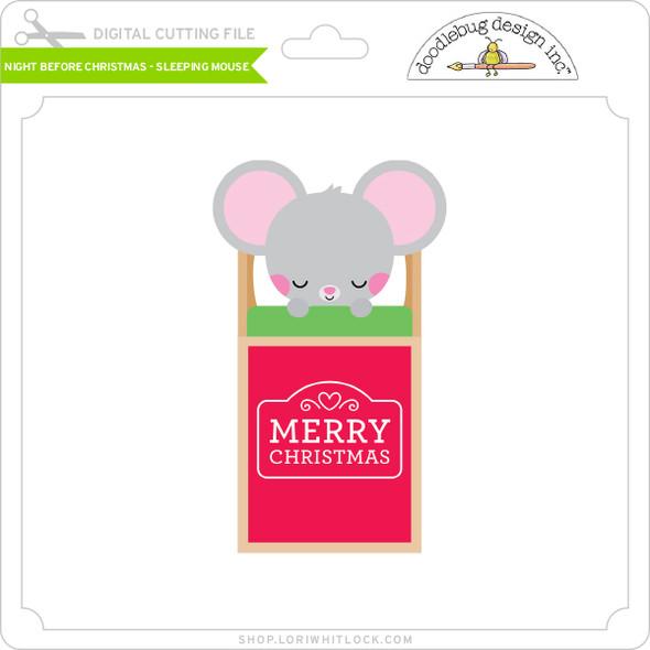 Night Before Christmas - Sleeping Mouse