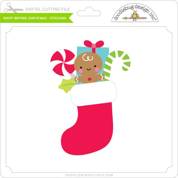 Night Before Christmas - Stocking