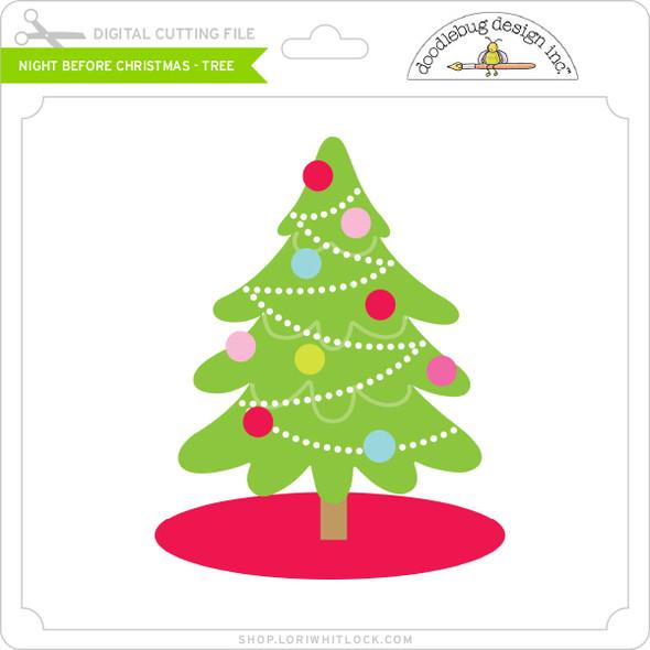 Night Before Christmas - Tree