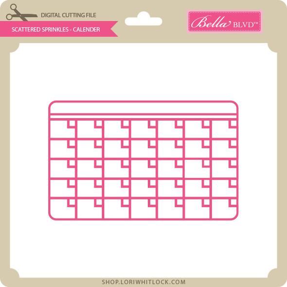 Scattered Sprinkles - Calendar