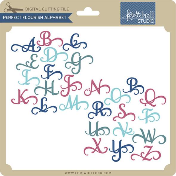 Perfect Flourish Alphabet
