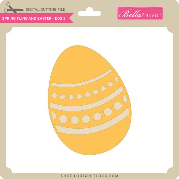 Spring Fling and Easter - Egg 3