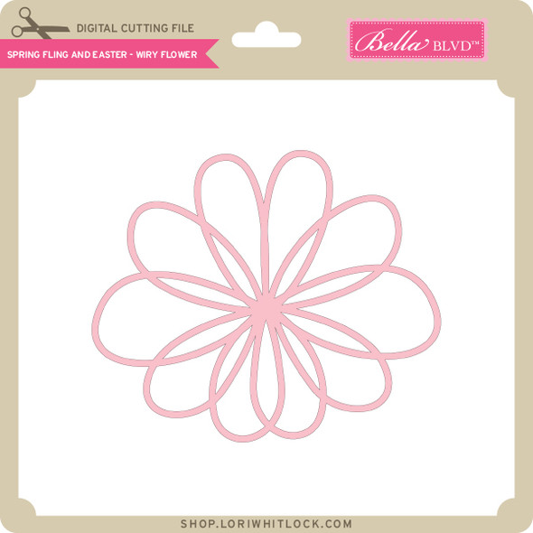 Spring Fling and Easter - Wiry Flower